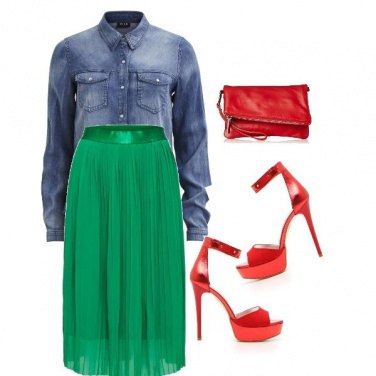 Outfit The best Street style skirt plissè