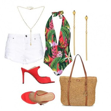 Outfit Tropical Pin-Up