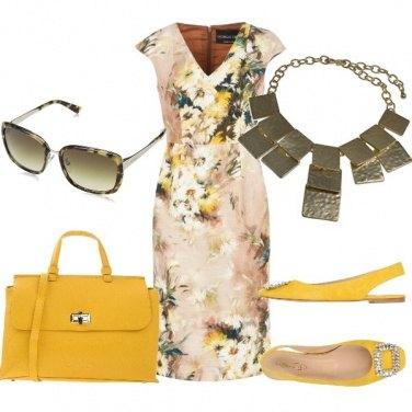 Outfit Sfumature di giallo