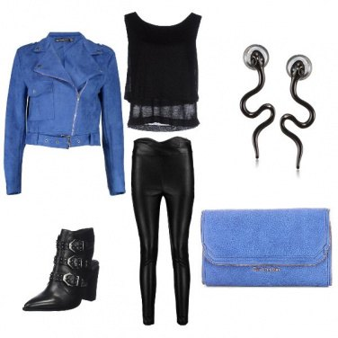 Outfit Rockblue