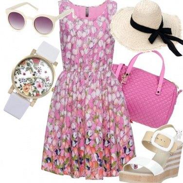Outfit Tulipani sul rosa