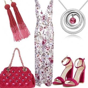 Outfit Rose amaranto