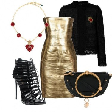 Outfit Aggressive gold