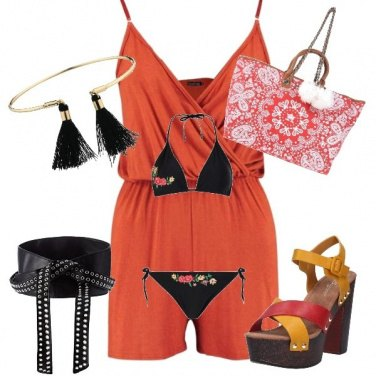 Outfit Aperirivo on the beach
