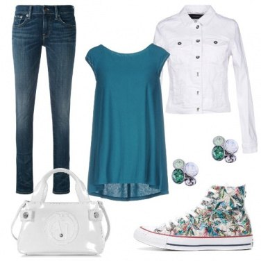Outfit Converse d\'effetto