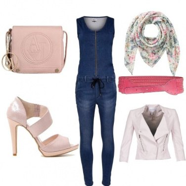 Outfit Protagonista in jeans