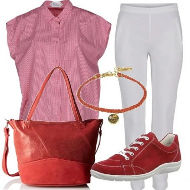 Outfit Basic rosso