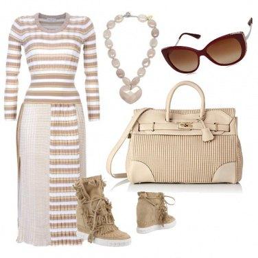Outfit Thè nel deserto