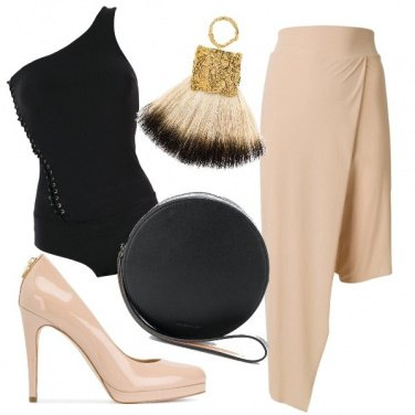 Outfit Basic and nude