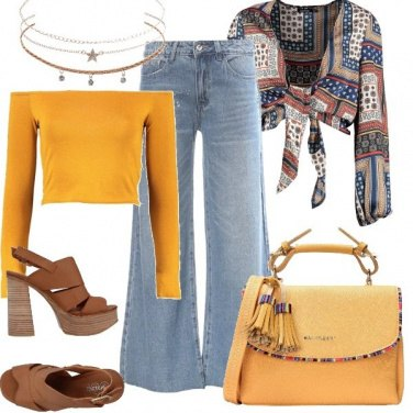 Outfit Etnic chic
