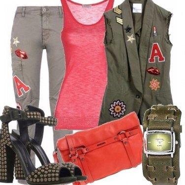 Outfit Zanotti, mostrine e tacchi