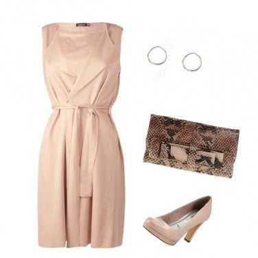 Outfit Eleganza in rosa