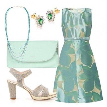Outfit Verde invitata