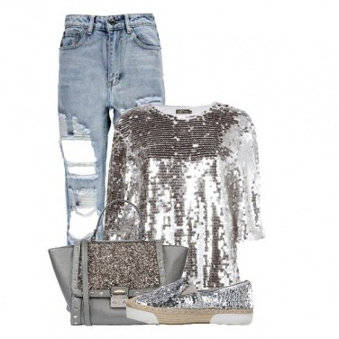 Outfit Sequin look
