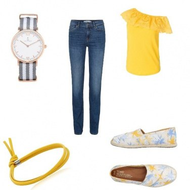 Outfit In giallo