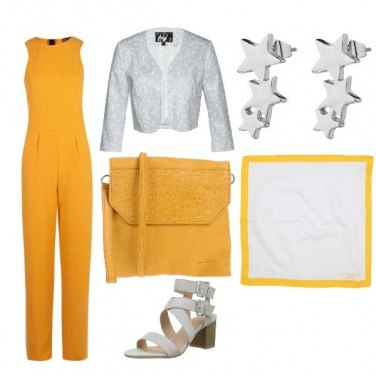 Outfit Giallo sole e stelle