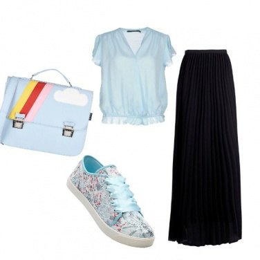 Outfit Azzurro