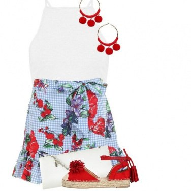 Outfit Short print