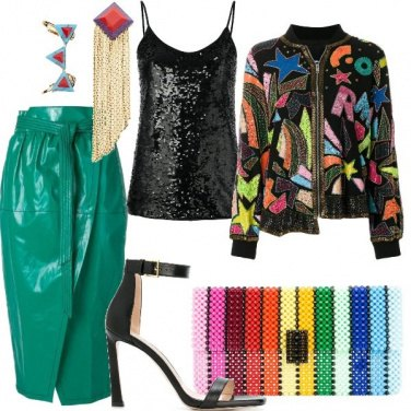Outfit Luxury in colors