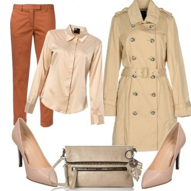 Outfit Trench primavera 2018