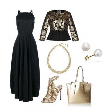 Outfit A tutto oro