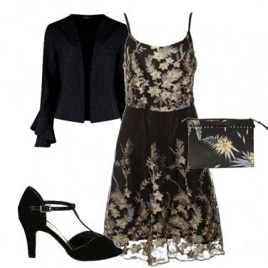 Outfit Nero per cerimonia