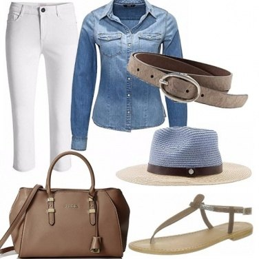 Outfit White pant