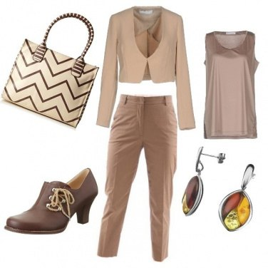 Outfit Nocciola e dintorni
