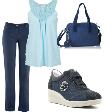 Outfit Bella in blu