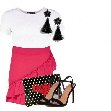 Outfit Frill skirt