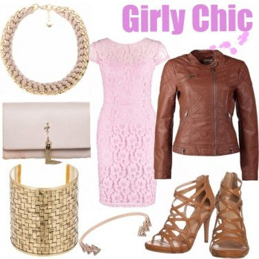 Outfit Girly Chic