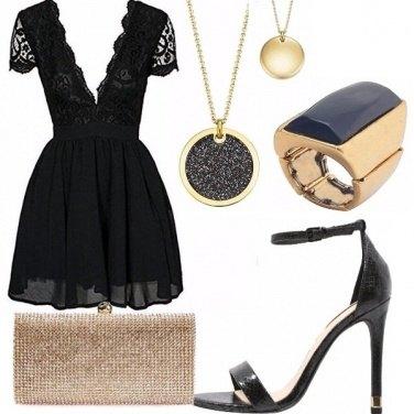 Outfit Black cinderella