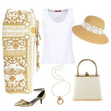 Outfit Pomeriggio dorato