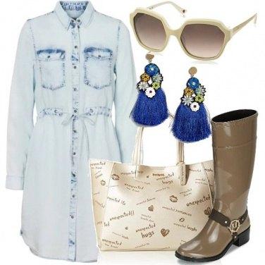Outfit Tra pioggia e sole