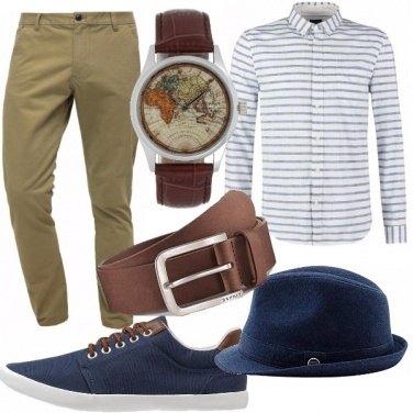 Outfit Buono per un viaggio