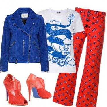 Outfit Serata in pantalone