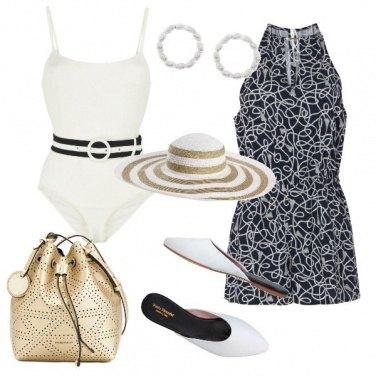 Outfit Aperitivo al porto