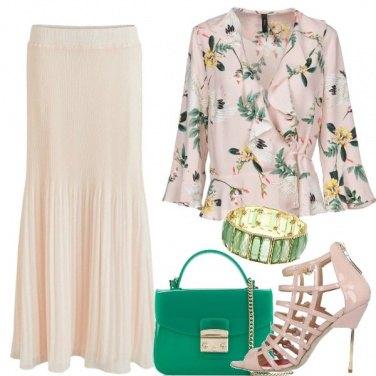 Outfit Bucolica plissè