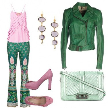 Outfit I pantalone orientale