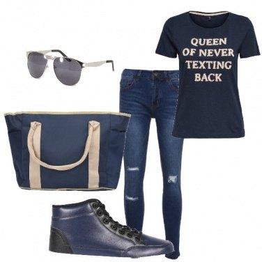 Outfit Università style
