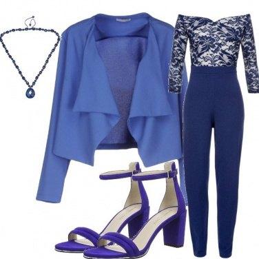 Outfit Jumpsuit blu