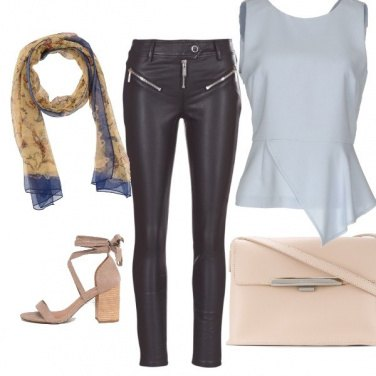 Outfit Pelle e nude