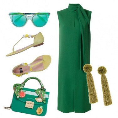 Outfit Oggi green