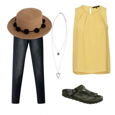 Outfit Giallo in allegria