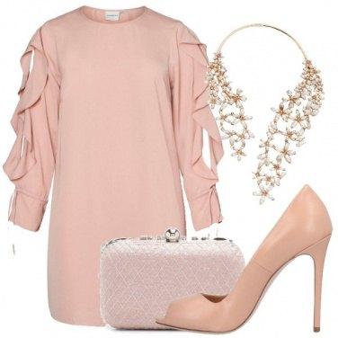 Outfit Delicatamente in rosa