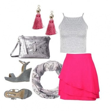 Outfit Light grey