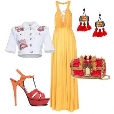 Outfit Una serata colorata