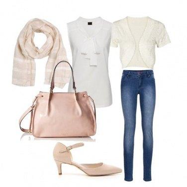 Outfit In ufficio coi jeans