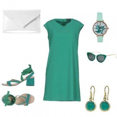 Outfit Colazione Verde Tiffany
