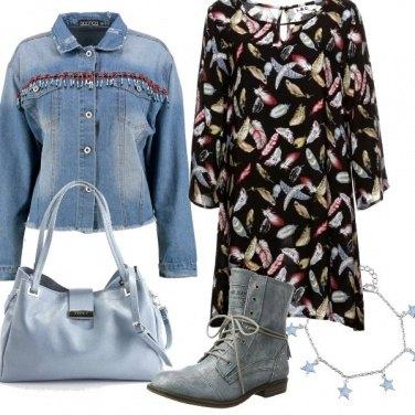 Outfit Sfumature di azzurro